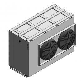 Rheem: Commercial Air to Water [A2W] Heat Pump-Horizontal-35kW
