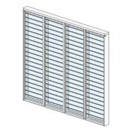 Breezway: Altair Louvre Innoscreen Stronghold