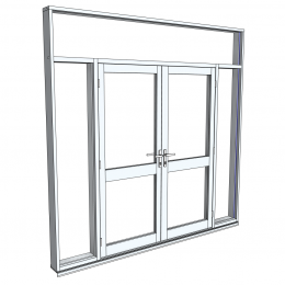 AWS: Architectural Series 650 Hinged Door